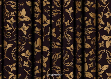 गुना कपड़ा रेशम कपड़े के साथ  यूरोपीय पैटर्न पृष्ठभूमि, कपड़े मोड़ो, लाइनों के पैटर्न, फूल छायांकन पृष्ठभूमि छवि