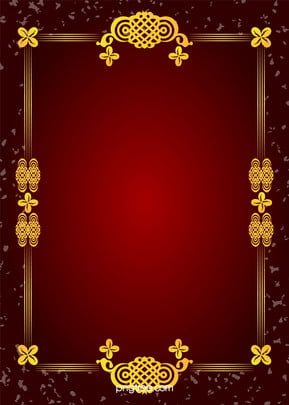 vector gold pattern frame white graffiti on red background creative , Golden, Pattern, Border Background image