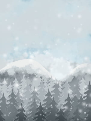 snow ice winter weather background , Landscape, Tree, Frost Background image