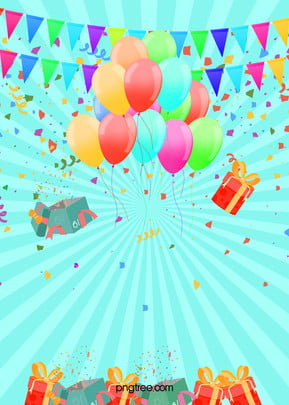 birthday party poster background template , Birthday, Party, Poster Background image