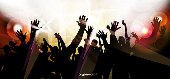 people hand shadow silhouette carnival music poster vector background, Posters, Dj, Fashion Background image