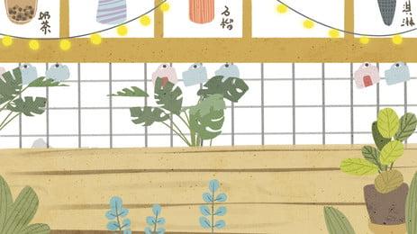 板树藤清新ポスターの背景, アイビー, テクスチャ背景板, 板背景 背景画像