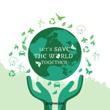 public environmental green hands saving the world to save the planet poster background , Public, Interest, Environmental Background image