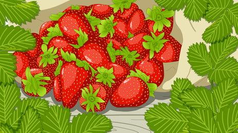 quả mọng dâu tây trái cây Ăn trái cây  nền, Sản Xuất, Thức ăn., Ngọt Ngào Ảnh nền