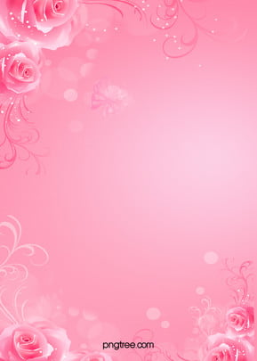 romantic pink background wedding invitations h5 , Romantic, Wedding, Invitations Background image