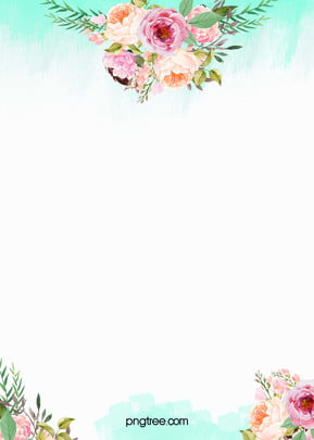 Small Fresh Watercolor Painted Background, Simple, Watercolor, Hand-painted, Background image