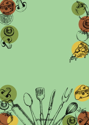 Creative Food Poster Design, Creative, Food, Poster, Background image