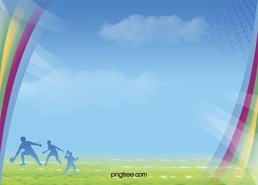 tenis meja saat saat indah poster bahan latar belakang, Tenis Meja Yang Indah Gambar Segera Turun, Meja Tenis Perlawanan, Langit Biru Dan Awan Putih Latar Belakang imej latar belakang