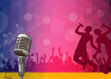 background material for singing competition poster, Singing, Competition, Campus Background image