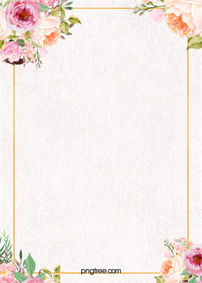 small clear flower watercolor background psd layered advertising background , Clear, Flowers, Wireframe Background image