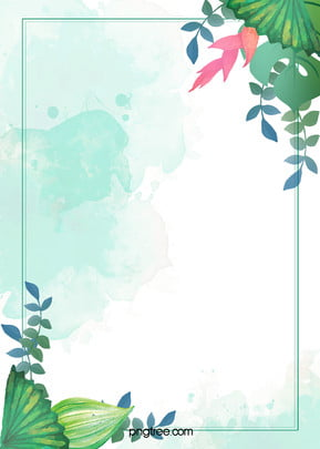 Small Clear Flower Watercolor Background Psd Layered Advertising Background, Clear, Flowers, Wireframe, Background image