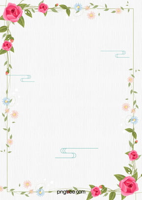 simple small fresh flower background psd layered advertising background , Simple, Hand-painted, Flowers Background image