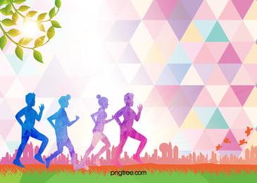 maraton poster bahan latar belakang, Maraton, Maraton Race, Maraton Poster imej latar belakang