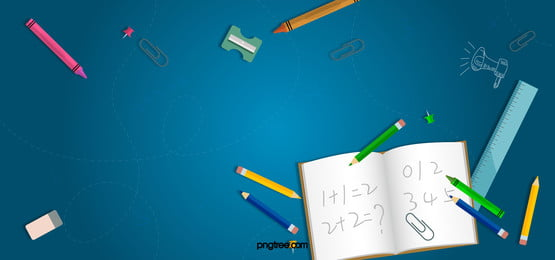 school season cartoon playful taobao poster background, School, Season, Begins! Background image