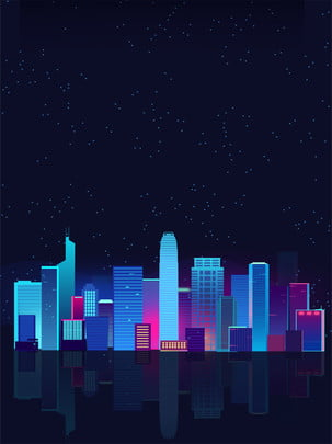 Design Background Of Intelligent Living In Science And Technology Cities, Science, Technology, City, Background image