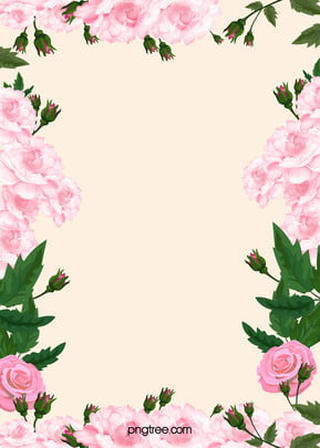 프레임 꽃 사진 꽃 배경 , 공장, 디자인, 장식 배경 이미지