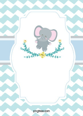cartoon hand painted cute blue baby products promotion , Cartoon, Lovely, Blue Background image