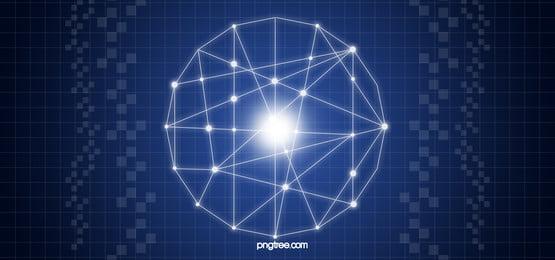 शांत व्यापार सूक्ष्म गहरे नीले फ्लैट पैनल बैनर, शांत, व्यापार, प्रौद्योगिकी पृष्ठभूमि छवि