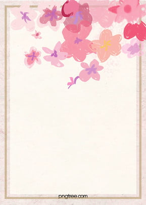 light pink romantic hand painted flower background , Light, Pink, Retro Background image
