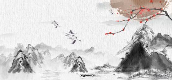 trung quốc  tết trung thu banner gió, Rất đơn Giản., Trung Quốc Phong, Tết Trung Thu Ảnh nền