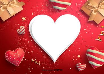 バレンタインデーのプレゼントのシンプルな背景 リボン バレンタインデー ロマンチック 背景画像