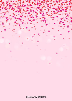 pink love heart rain valentines day background , Aperture, Halo, Lovely Background image