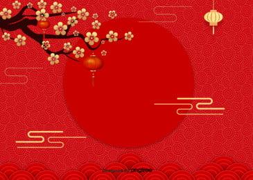 真っ赤な中国の伝統的な質感初美人の背景, 簡潔で練習する, 花の花, テクスチャー 背景画像