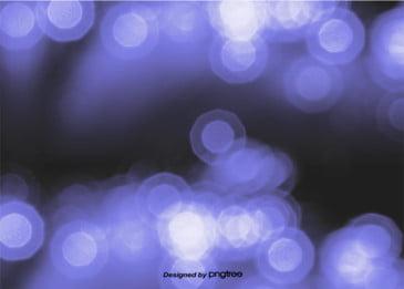 Blue Dream Halo Vagueness Background, Light, Luminous Efficiency, Facula, Background image