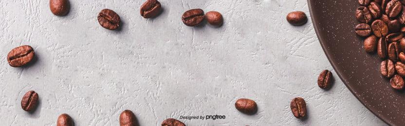 ग्रे minimalist कॉफी पृष्ठभूमि , कॉफी, कॉफी डिस्क, कॉफी बीन्स पृष्ठभूमि छवि