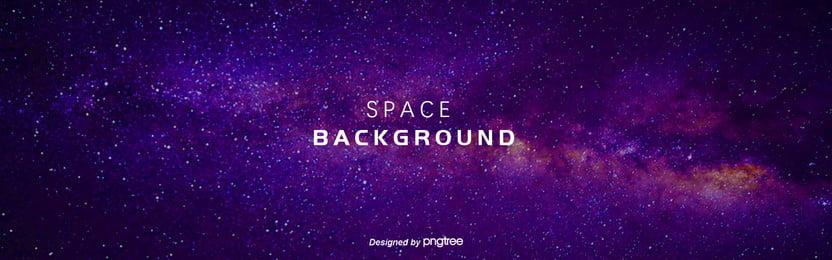 espaço de fundo roxo das estrelas da via láctea , Fonte De Luz, A Estética, O Espaço Imagem de fundo