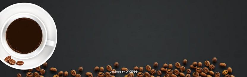 черная фона кофе на черном ПАСЕ , чай после обеда, кофе, цвет кофе Фоновый рисунок