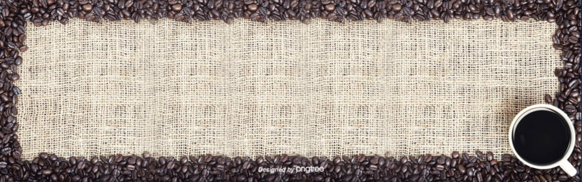 Brief Background Of Brown Retro Coffee, Coffee, Caffeine Molecule, Coffee Cup, Background image