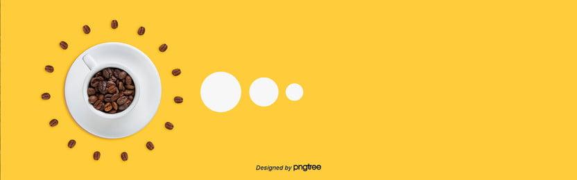 краткая справочная информация о желтом кофе , кофе, Кофеиновый молекула, чашка кофе Фоновый рисунок