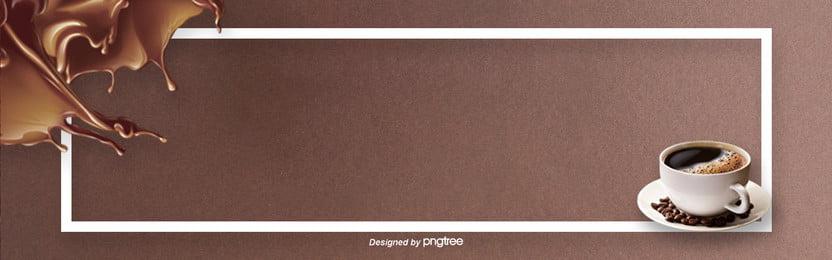 भूरे रंग के minimalist कॉफी पृष्ठभूमि , कैफीन अणु, कॉफी कप, कॉफी बीन्स पृष्ठभूमि छवि
