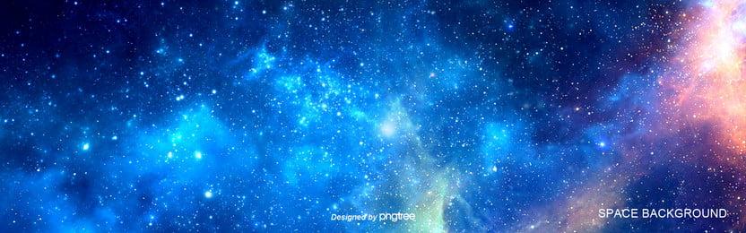 gradual color background of milky way star , Starry Sky, Gradual Change, Background Background image
