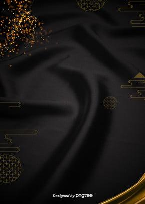 उच्च अंत ब्लैक साटन सोने के पाउडर के पारंपरिक पैटर्न के वाणिज्यिक बिजली आपूर्तिकर्ता पृष्ठभूमि , पारंपरिक, पारंपरिक बादल पैटर्न, वाणिज्यिक पृष्ठभूमि छवि