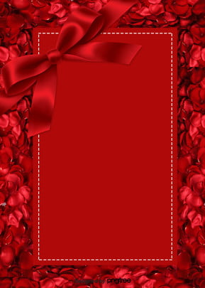 red romantic rose butterfly knot valentines day background , Red Roses, Happy Valentines Day, Valentines Day Gift Background image