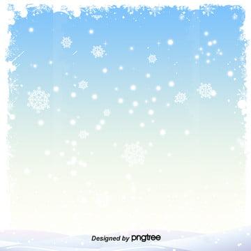 簡約藍色冬季雪花背景 , 冬天, 冬季, 冷清 背景圖片