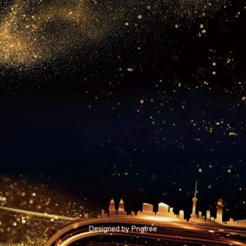 काले सोने की विचित्र स्थान शहर अचल संपत्ति पृष्ठभूमि , स्पॉट, चमक, रियल एस्टेट पृष्ठभूमि छवि