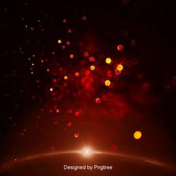 luz de fundo vermelho , Halo, O Astigmatismo, Moda Imagem de fundo
