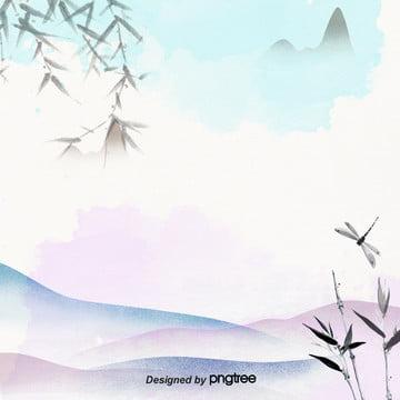 minimalist पारंपरिक रंग स्याही विज्ञापन व्यवसाय बिजली व्यापार पृष्ठभूमि , चीनी शैली, पारंपरिक, वाणिज्यिक पृष्ठभूमि छवि