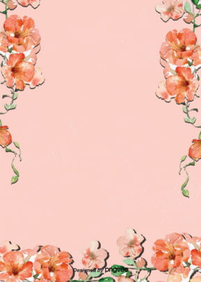 pink flower decorative background , Wedding Celebration, Valentines Day, Romantic Background image