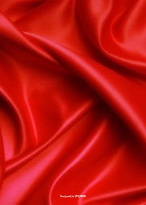 लाल साटन बनावट पृष्ठभूमि डिजाइन , व्यापार, गतिविधियों, लाल पृष्ठभूमि छवि