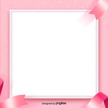 粉色剪紙效果邊框效果背景設計 , 背景, 背景設計, 剪紙 背景圖片