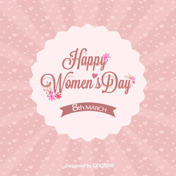 background of happy pink love flowers on womens day , Womens Day, Background, Pink Background image