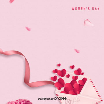 Background of Pink Simple Womens Day , Flighty, March 8th Womens Day, Womens Day Background image