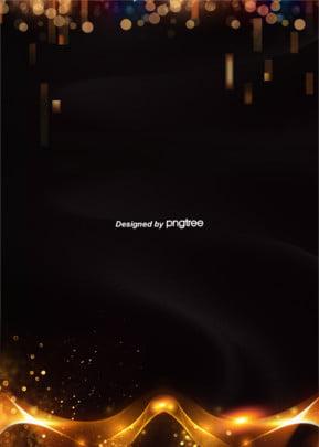ハイエンドのブラックゴールドサテン広告電商背景 , ポイント, 絞り, 幾何学 背景画像