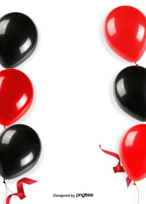 background design of red ribbon balloon , Ribbon, Balloon, Activity Background image