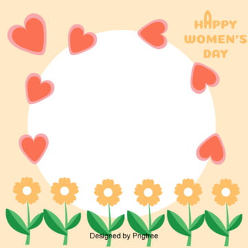 Background Elements of Flower Love on March 8th Womens Day , March 8th Womens Day, Soft Pale, Love Background image