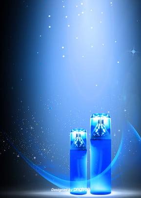 नीले सपना सौंदर्य प्रसाधन पृष्ठभूमि , प्रकाश, सौंदर्य प्रसाधन, मेकअप पृष्ठभूमि छवि